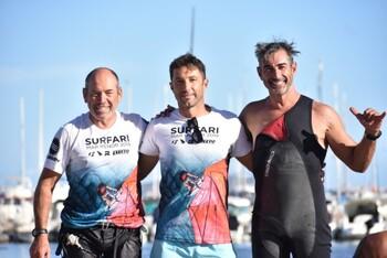 Doble éxito para Eduardo Navarro en el Mar Menor