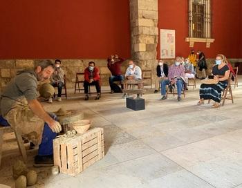 El Museo acoge un taller práctico de cerámica carpetana