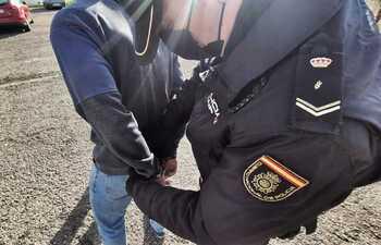 Detenido tras robar a una mujer en silla de ruedas