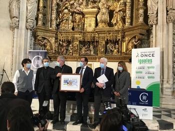 El cupón de la ONCE celebra los 800 años de la Catedral