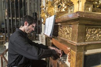 El concurso nacional de órgano reúne a 5 jóvenes talentos