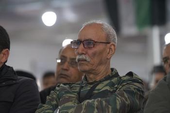 El líder del Frente Polisario es trasladado a España