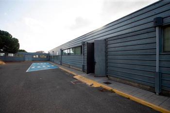 Zona del Hospital Nuestra Señora de Sonsoles donde se intalará la unidad satélite de radioterapia.