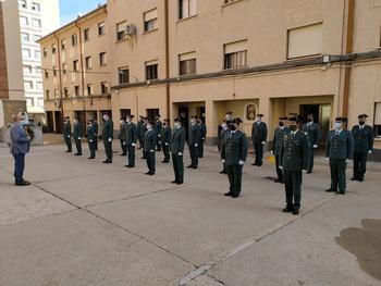 32 nuevos agentes para la Guardia Civil de Soria
