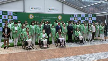 Homenaje de Iberdrola a las olímpicas y paralímpicas