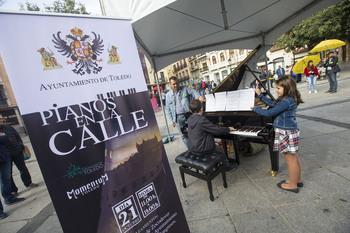 Los pianos vuelven a las calles de Toledo