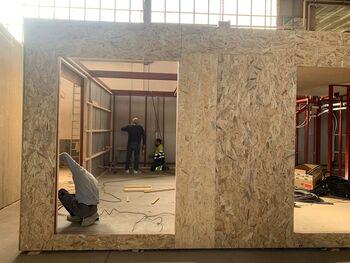 Faltan manos para construir viviendas modulares