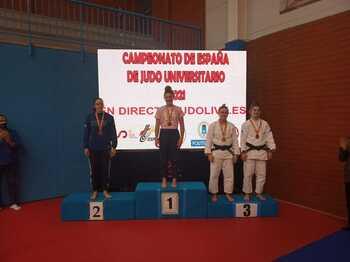 Sara Ortega, bronce en el Nacional Universitario de Judo