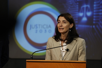 Pilar Llop se compromete a agilizar la Ciudad de la Justicia