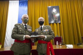 El general Corpas recibe el premio 'Intendente Amorós'