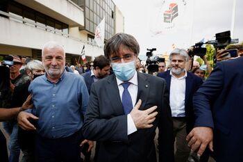 El Tribunal de Sassari suspende la extradición de Puigdemont