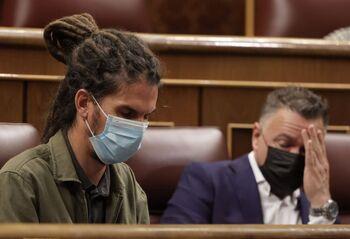El Congreso mantiene el escaño a Alberto Rodríguez