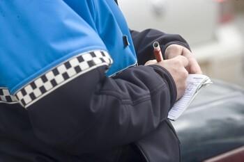 Detenido en Briviesca por escupir a un policía local