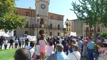 Movilización en defensa de la Sanidad en Carbonero (fotos)