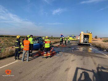 Fallece la mujer herida en el accidente de Lillo