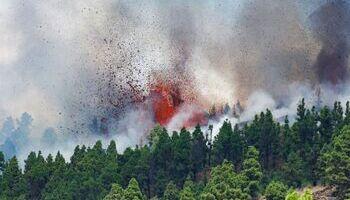 El volcán de La Palma tiene al menos cinco bocas