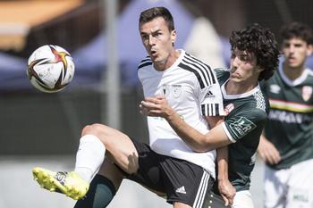 Nacho Heras rescata un punto para el Burgos Promesas