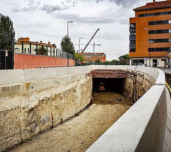 Problemás técnicos retrasan las obras del túnel de Andrómeda