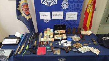 Desarticulado un grupo criminal dedicado al tráfico de armas