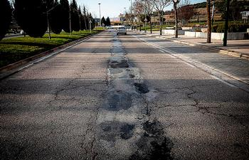 La campaña de asfaltado llegará a 9 calles de Burgos