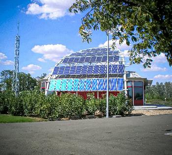 La fotovoltaica ahorra 122.000 euros en la factura municipal