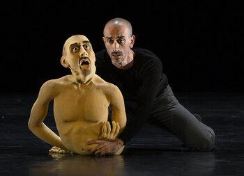 «Me llevo bastante bien con mi marioneta, aunque es un divo»