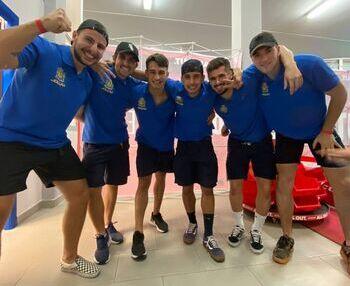 Seis vallisoletanos, bronce en el Campeonato del Mundo