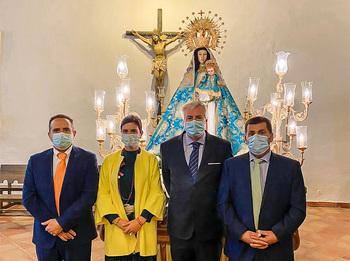 Tirteafuera arropó a la Virgen del Rosario