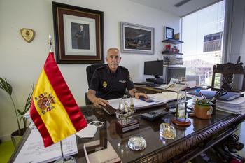 Marín se traslada a Madrid tras dos años como comisario jefe
