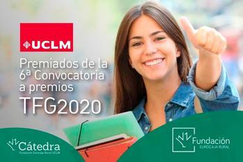 Eurocaja elige los 10 mejores Trabajos Fin de Grado de UCLM