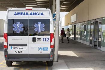 Tres heridos al chocar varios coches en la N-111 en Lardero
