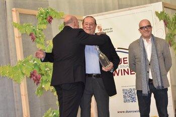 El bodeguero José Luis Sanz premio 'Reconocimiento Duero'