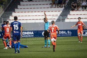 El Burgos CF, casi dos horas en inferioridad numérica