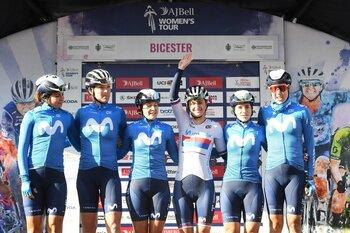 Sheyla Gutiérrez, cuarta en la Vuelta a Gran Bretaña
