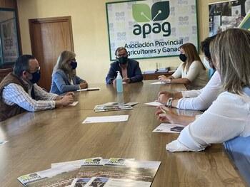 El PP se reúne con agricultores y ganaderos de la provincia