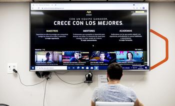 Montan el mayor 'Netflix' de formación deportiva en español