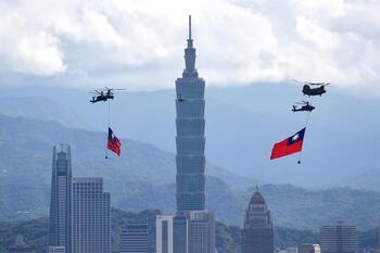 Taiwán asegura que no empezará una guerra con China