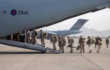 EEUU completa la evacuación de Kabul
