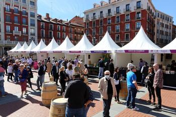 Arranca la III edición de 'Valladolid. Plaza Mayor del Vino'