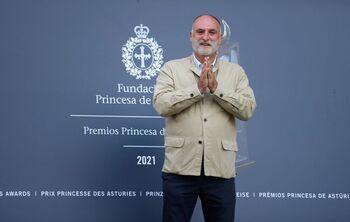 José Andrés donará su parte del Premio Princesa a La Palma