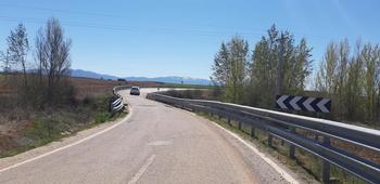 Ampliación del puente entre Bercimuel y Campo de San Pedro