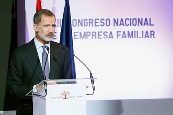 El Rey inaugura este lunes el Congreso de Empresa Familiar