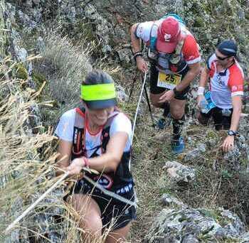 Luciana asiste a la reanudación del circuito Trail Series