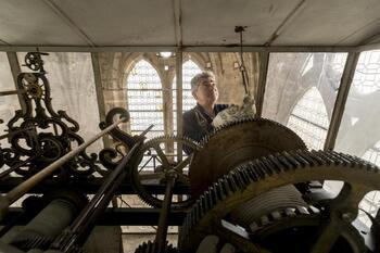 La tecnología moderna de la Catedral de Burgos
