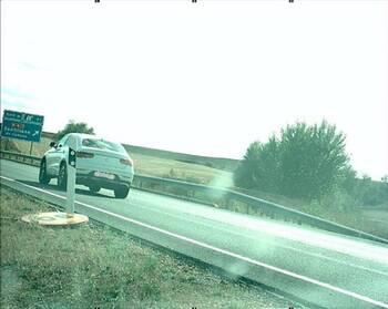 Denunciado un conductor que circulaba a 201 km/h por la A-67