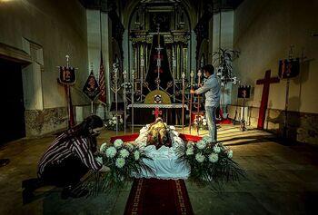 Las iglesias permanecerán abiertas con pasos procesionales