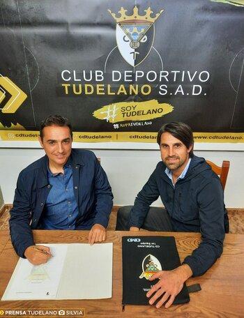El Tudelano cambia de entrenador: Salvachúa por Olaizola
