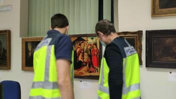 Siete detenidos por estafar obras falsas de Goya y Benlliure