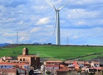 Luz verde al parque eólico Jubera, con molinos de 200 metros