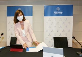 La presidenta de Empresa Familiar de Castilla y León (EFCyL), Rocío Hervella.